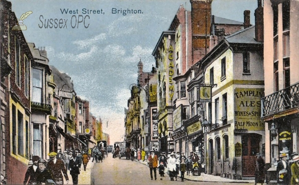 Brighton - West Street, Half Moon